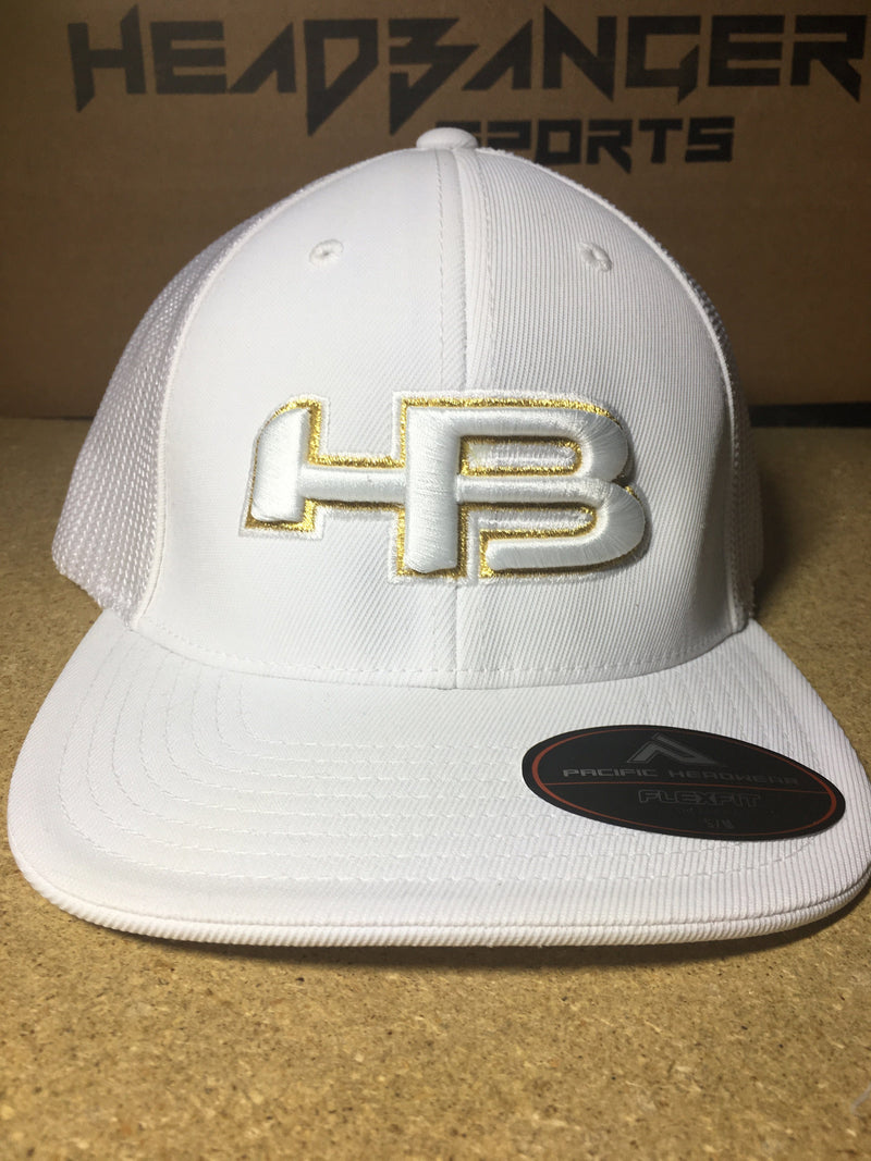 HB Exclusive 404M Fitted Hat: PRESTIGE