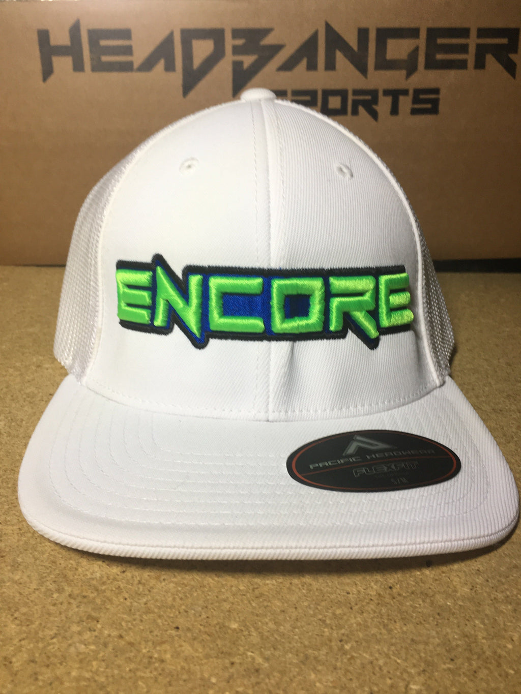 HB Exclusive 404M Fitted Hat: THE ENCORE