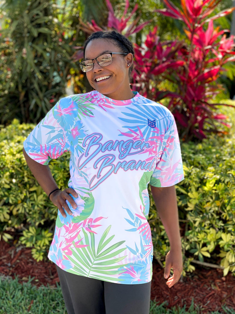 Banger Brand Exclusive Short Sleeve Floral Jersey