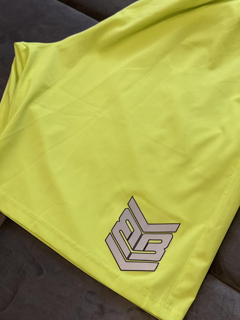 Banger Brand Exclusive 4 Way Stretch Shorts w/ Reflective Logo