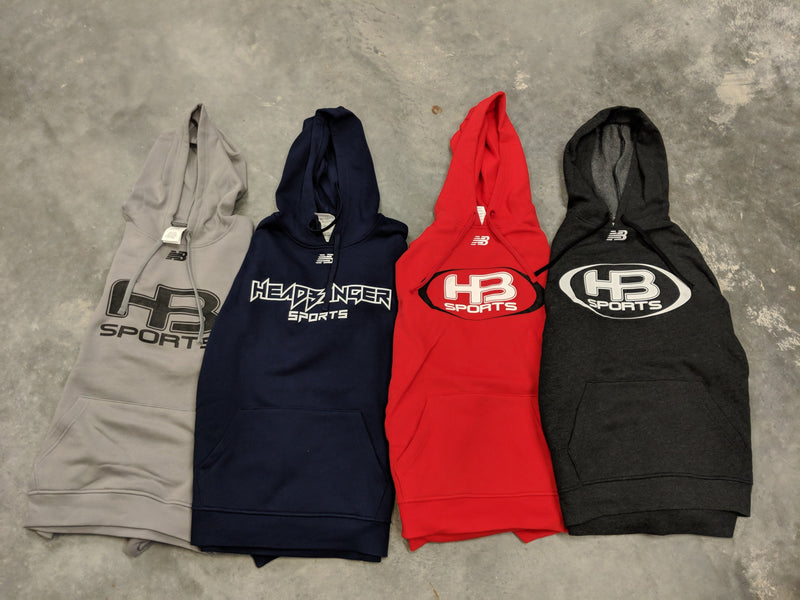 HB Sports Branded New Balance Baseball Hoodie: TMMT502