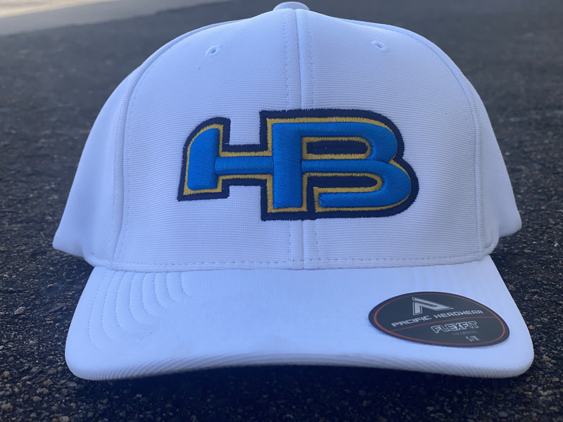 HB Sports Exclusive Pacific 498F Performance Flexfit Hat: The Bolts