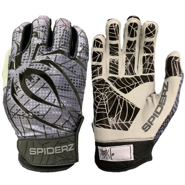 2019 Spiderz LITE Batting Gloves: Black/Silver Digi Camo