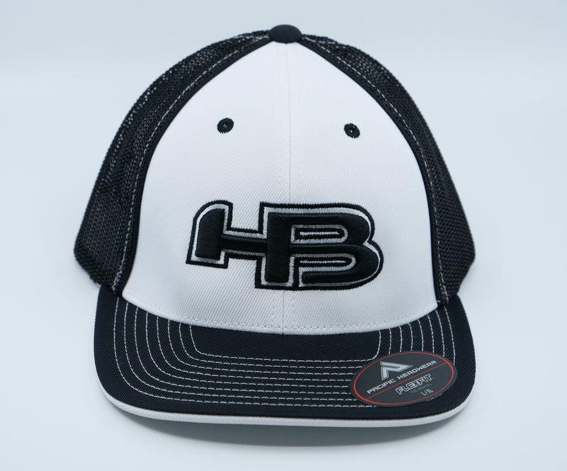 HB Exclusive 404M Fitted Hat: Lights Out