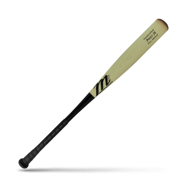 MARUCCI POSEY28 Pro Metal BBCOR Baseball Bat (-3) Wood Look