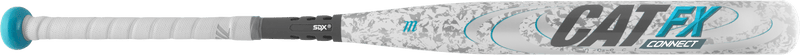 Side CAT FX view of 2018 Marucci CAT FX Connect -10 Fastpitch Softball Bat: MFPCC710