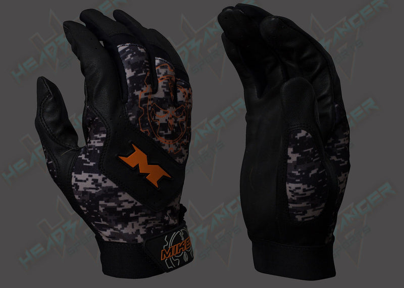 Miken Digital Camo Pro Adult Batting Gloves: MIKPRO-DIGI