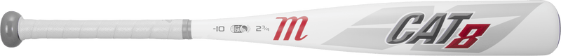 Cat 8 Side View 2019 Marucci CAT 8 (-10) Junior Big Barrel Baseball Bat: MJBBC8