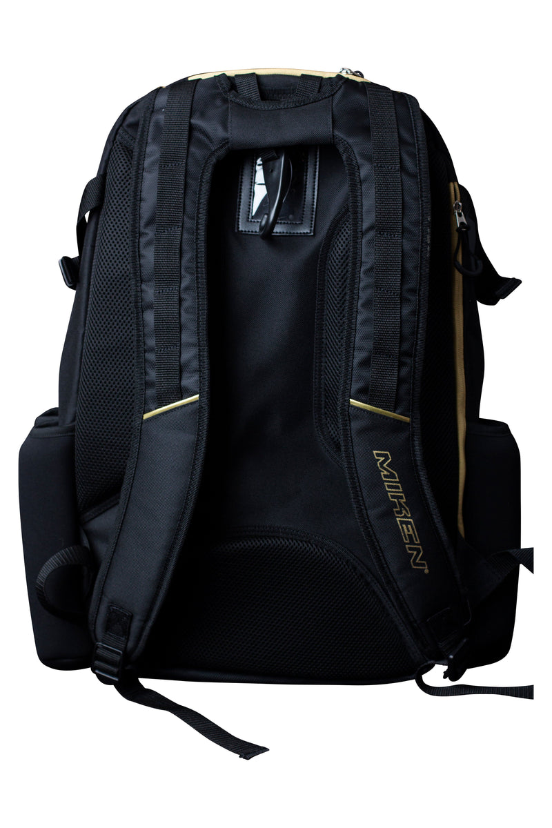Miken Gold Series Limited Edition Players XL Backpack: MKBG18-XL-GLD