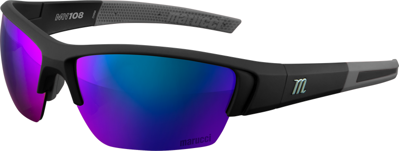 Marucci MV108 Performance Sunglasses: MSNV108-MB-B