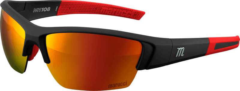 Marucci MV108 Performance Sunglasses: MSNV108-MB-R