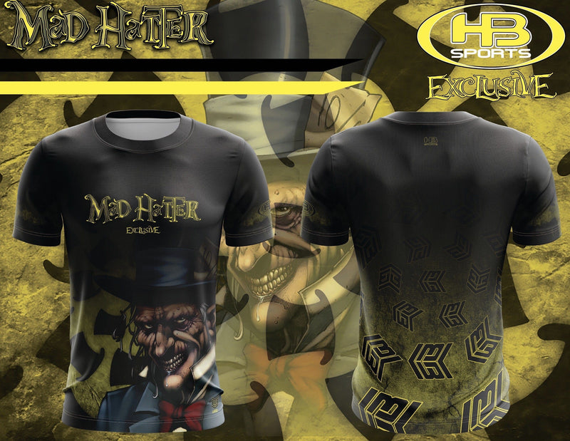 Banger Brand Exclusive Short Sleeve Mad Hatter Jersey