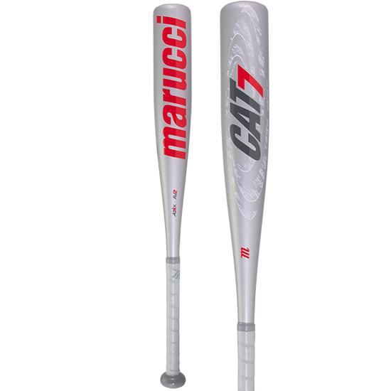 2020 Marucci CAT 7 Silver (-10) Junior Big Barrel Baseball Bat: MJBBC72S