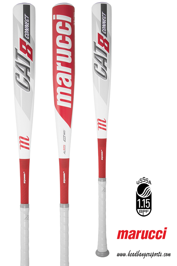 2019 Marucci Cat 8 Connect (-5) USSSA Baseball Bat: MSBCC85