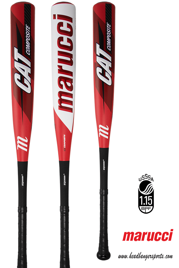 2019 Marucci CAT 8 Composite -8 USSSA Baseball Bat: MSBCCP8 at headbangersports.com