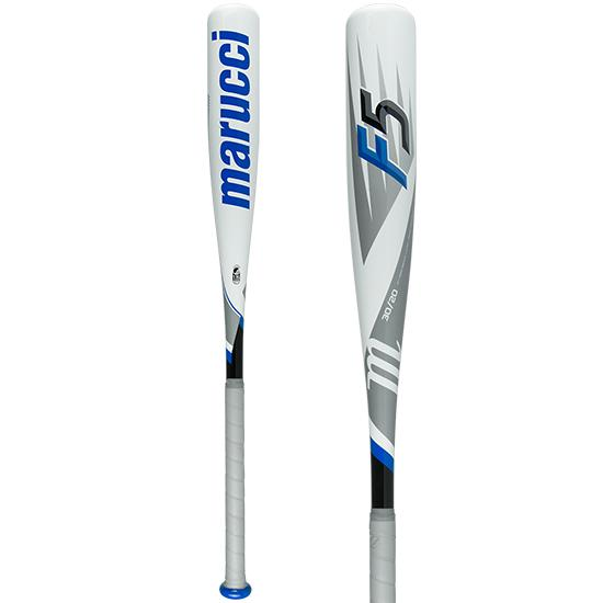 "2018 Marucci F5 Senior League 2 3/4"" (-10) Baseball Bat: MSBF5X10 at headbangersports.com"