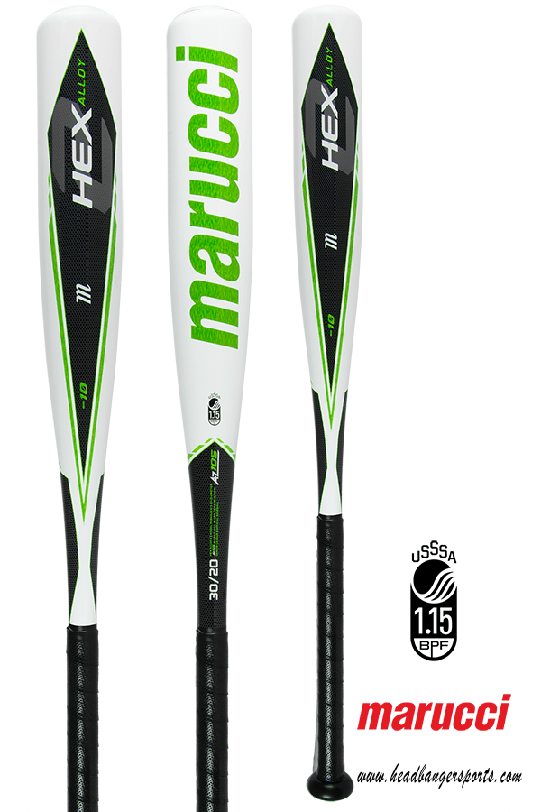 2018 Marucci Hex Alloy 2 (-10) Senior League Baseball Bat: MSBHA2X10 at headbangersports.com