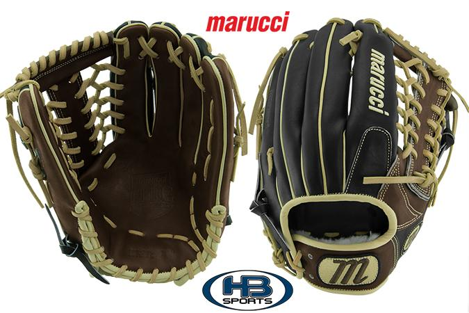 "Marucci Honor The Game 12.75"" Baseball Glove: MFGHG1275T at headbangersports.com"