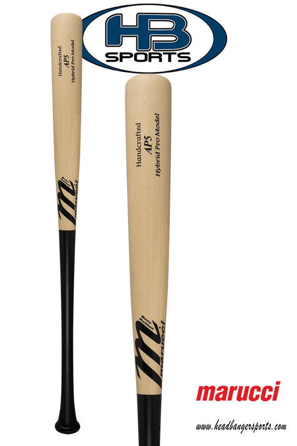 Marucci Albert Pujols Hybrid BBCOR Wood Baseball Bat: MHCBAP5 at headbangersports.com