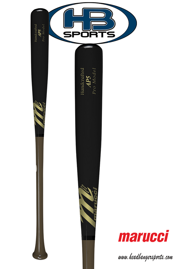 Marucci Albert Pujols Maple Wood Baseball Bat: AP5 Brown & Black at headbangersports.com