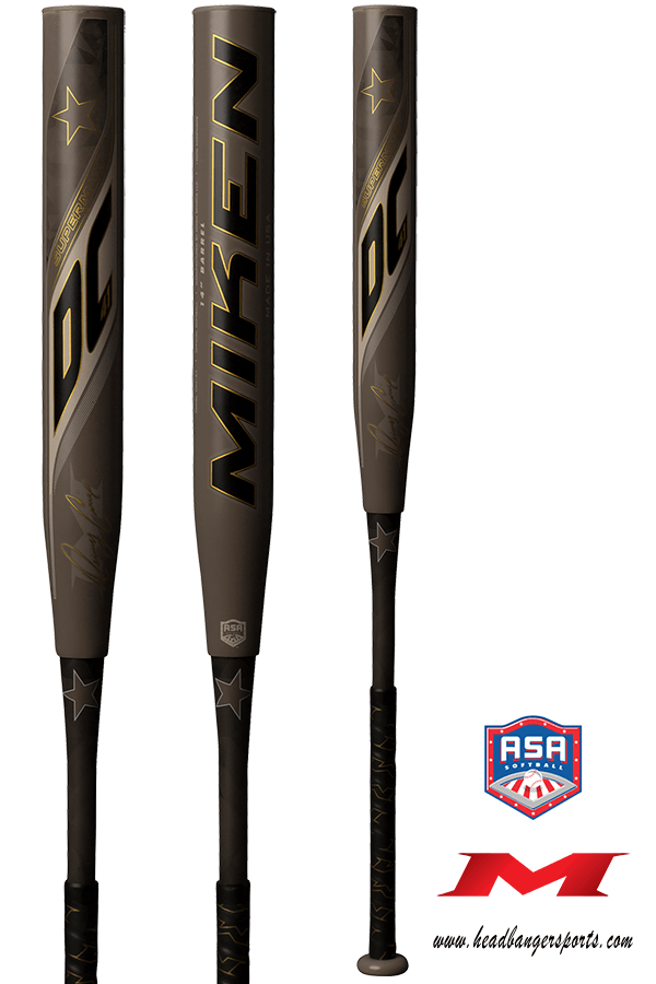 2019 Miken DC-41 SuperMax ASA Slow Pitch Softball Bat: MDC17A at headbangersports.com