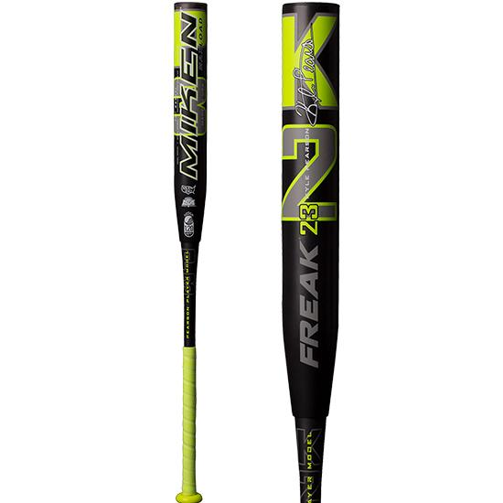 "2019 Miken Freak KP-23 12"" Maxload USSSA Slowpitch Softball Bat: MKP23U at headbangersports.com"