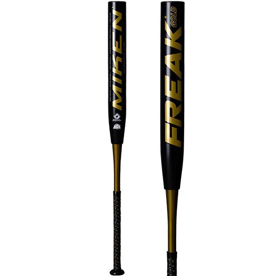 "2020 Miken Freak Gold 14"" Maxload SSUSA Senior Slowpitch Softball Bat: MGOLDS"