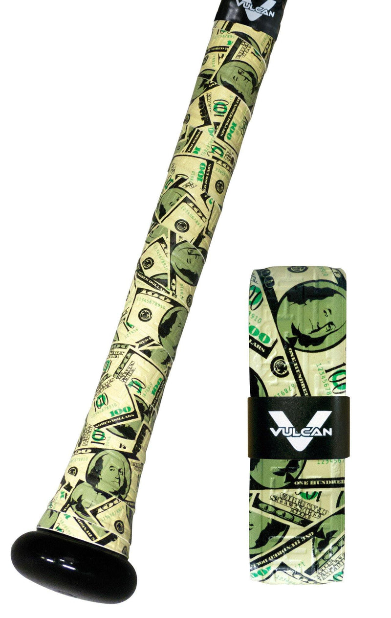 Money Uncommon Series Vulcan Bat Grips at Headbangersports.com