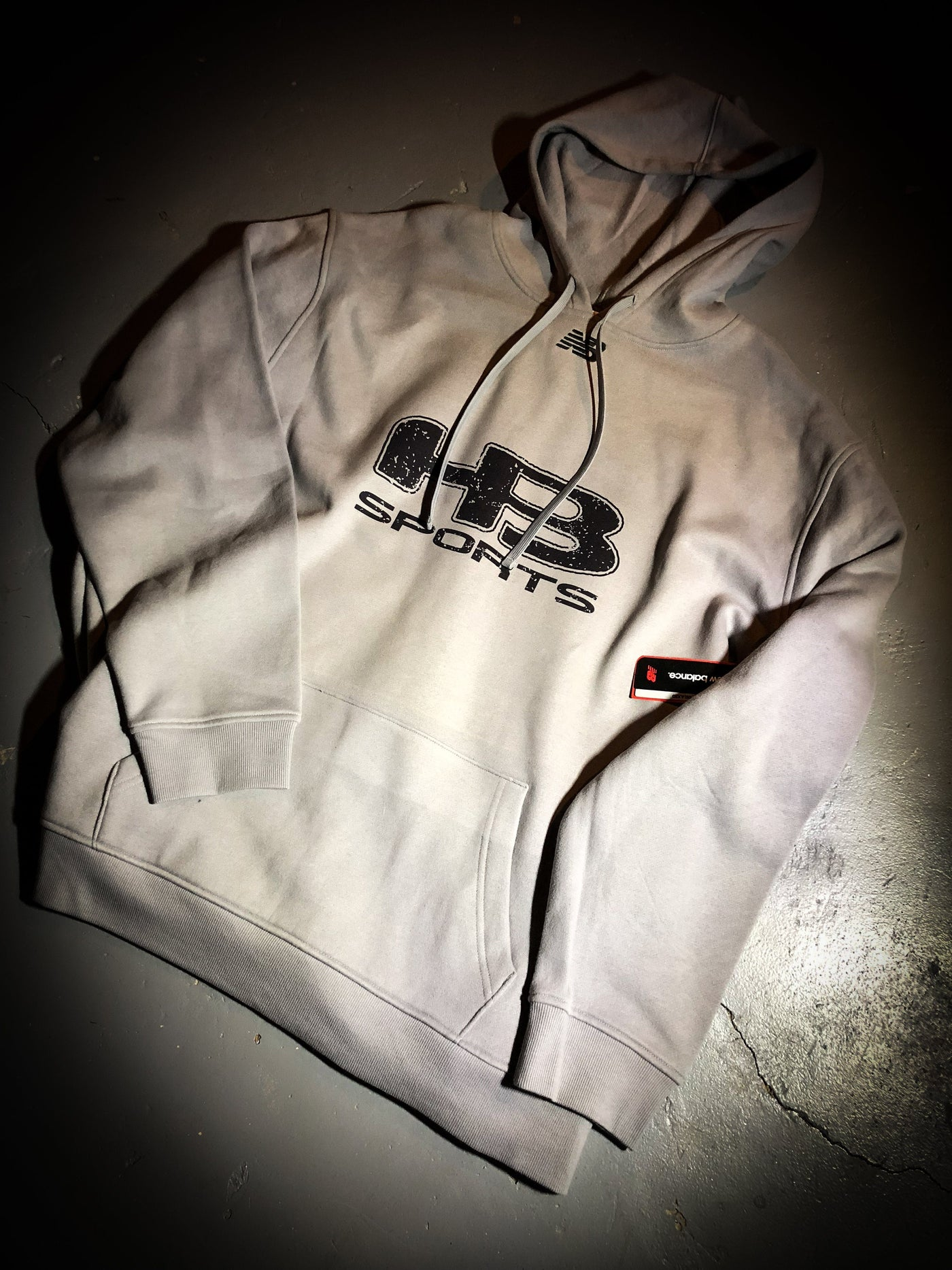 3f2359218f3b9 ... Alloy HB Sports New Balance TMMT502 Logo Hoodie (Large, XL, 2XL, and ...