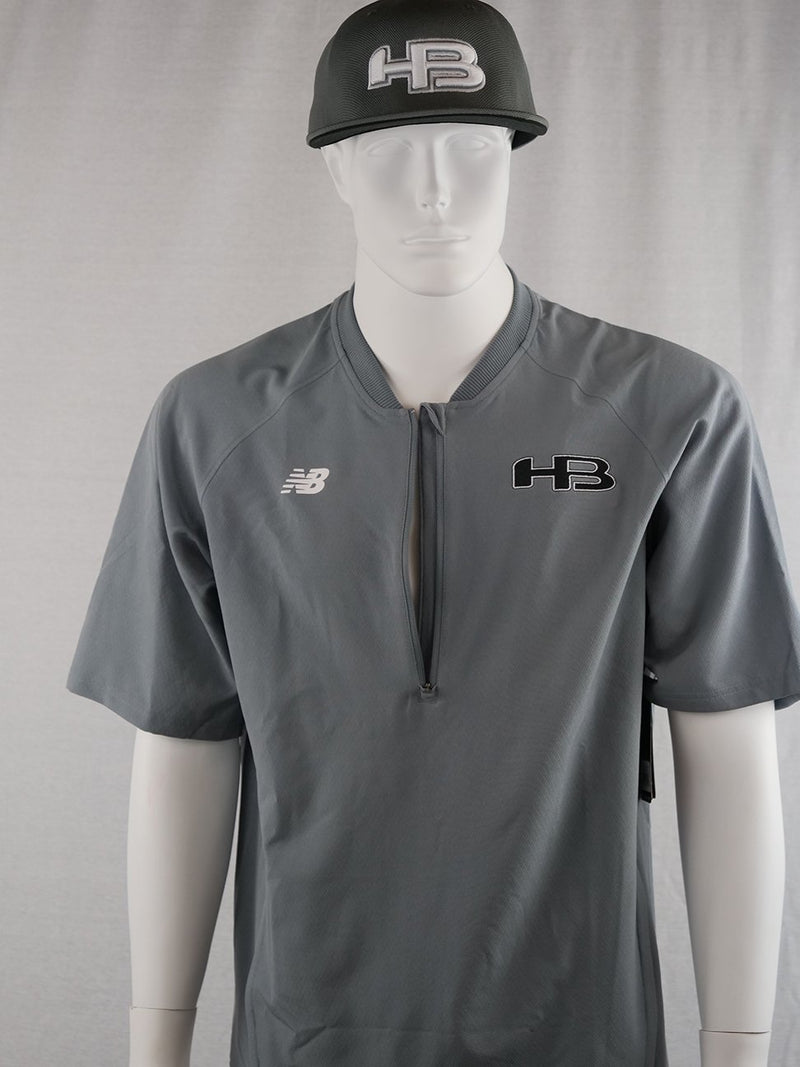 New Balance Mens Short Sleeve Batting Jacket: MT73706