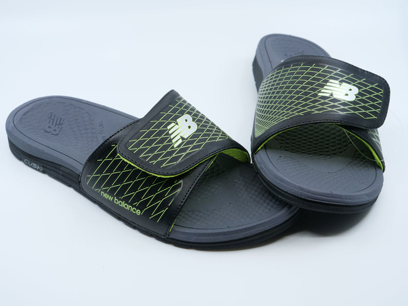 New Balance Mens 3064 Cush+ Slide Sandals at headbangersports.com