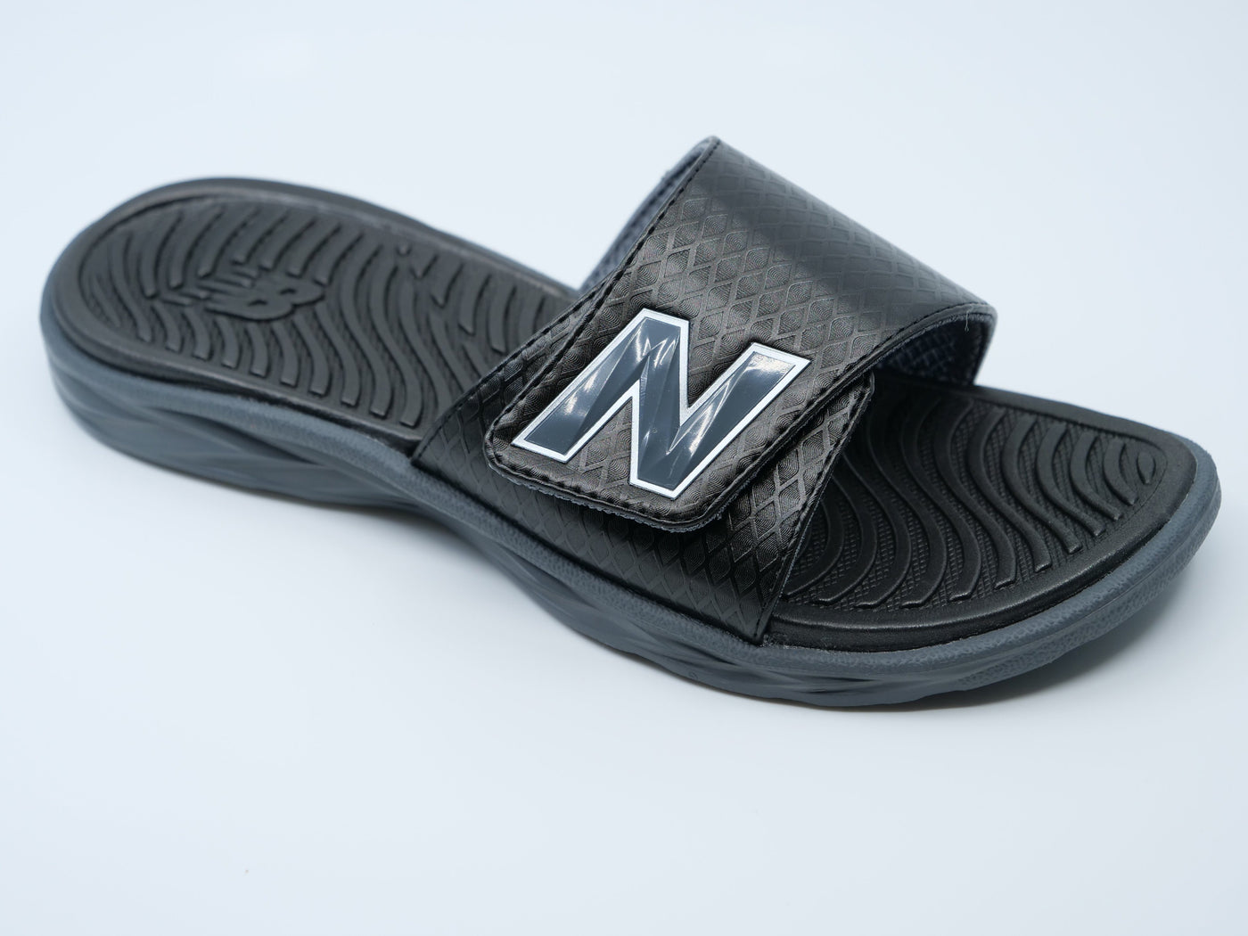 0dd5530cd9a66 ... New Balance Men's Black 3067 Response Slide Sandals at  headbangersports.com