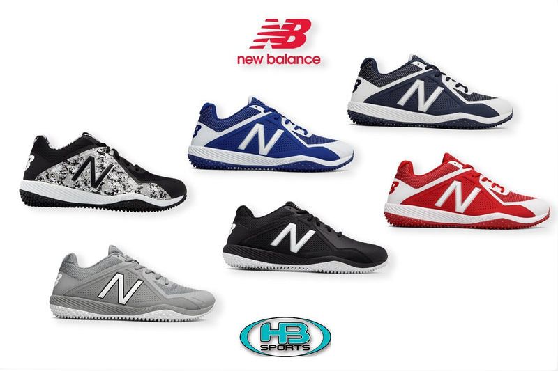 New Balance Mens 4040 V4 Softball and Baseball Turf at Headbangersports.com.  Youth Models Available. T4040AG4, T4040BK4, T4040PK4, T4040TB4, T4040TN4, T4040TR4, T4040V4