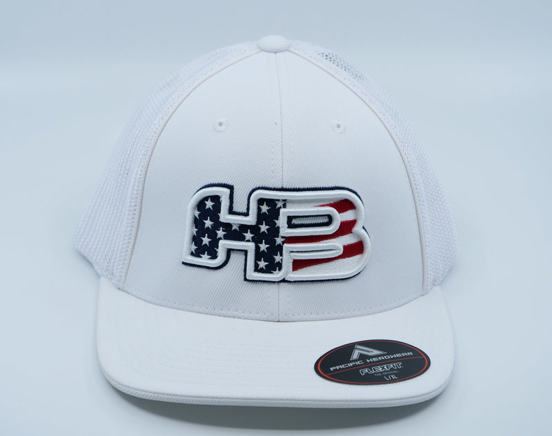 HB Exclusive 404M Fitted Hat: Old Glory
