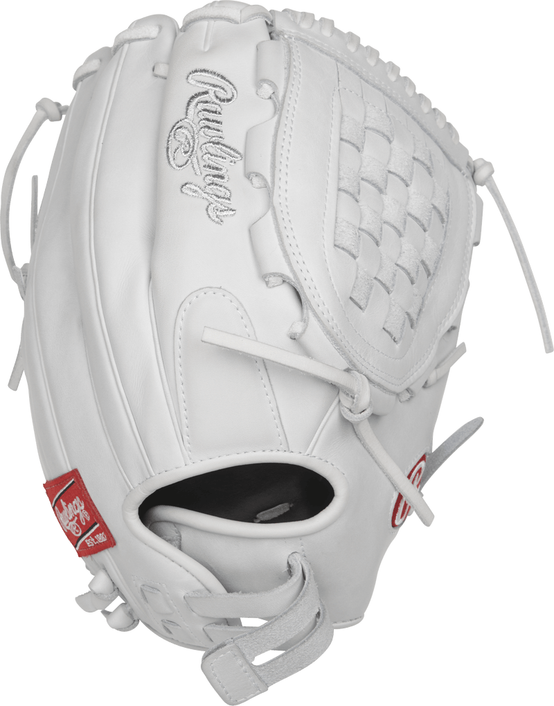 Rawlings Heart of the Hide All White Basket Web at Headbangersports.com