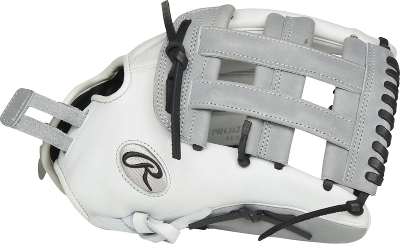 "H-Web View of Rawlings Heart of the Hide 12.75"" Fastpitch Softball Glove: PRO1275SB-6WG at headbangersports.com"