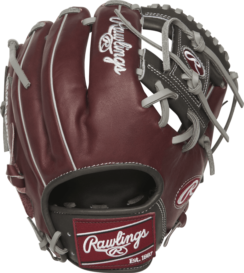 Conventional Open Back Rawlings Pro I Web Heart of the Hide at headbangersports.com