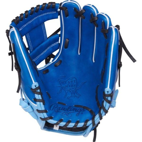 "Palm View of Rawlings Heart of the Hide Color Sync 3.0 11.50"" Baseball Glove: PRO204W-2RCB"