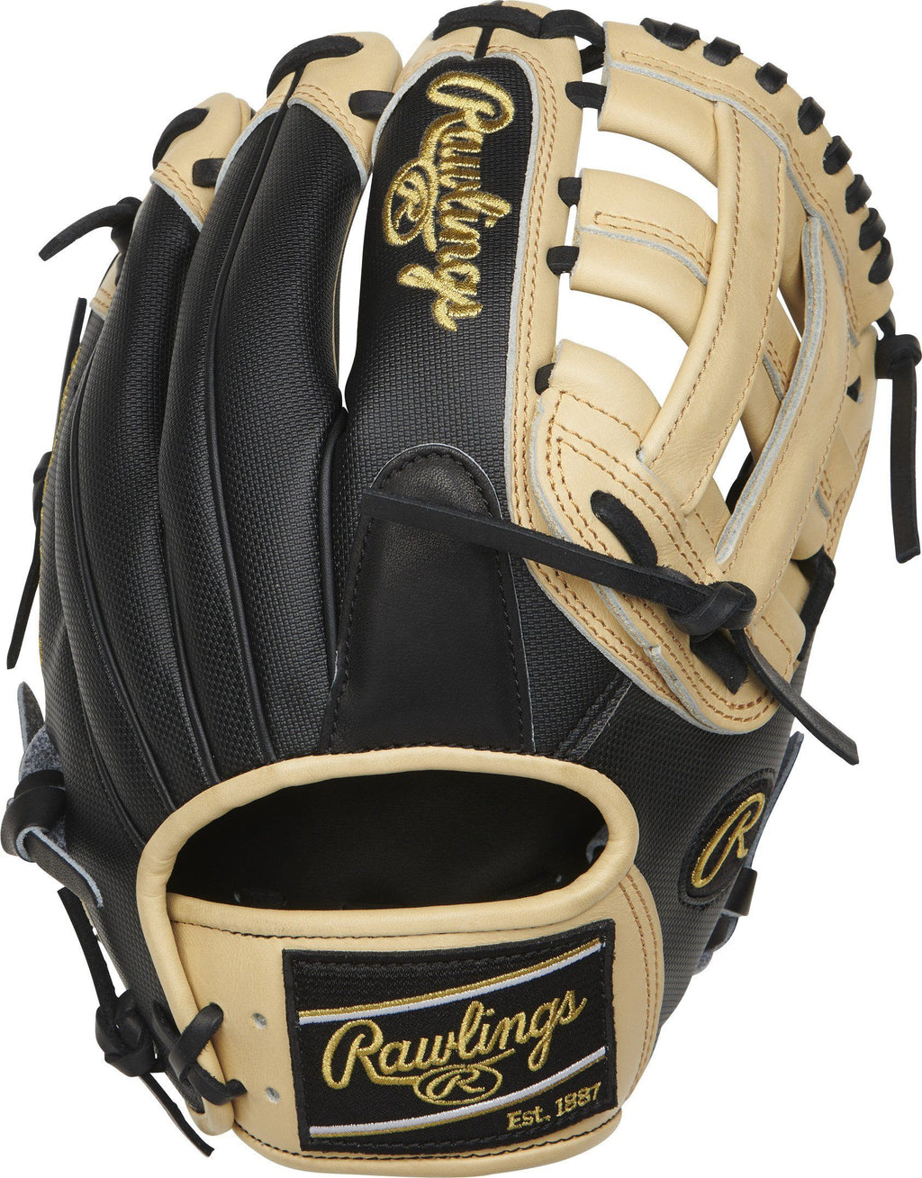 "Rawlings Heart of the Hide 11.75"" Baseball Glove: PRO205-6BCSS at headbangersports.com"