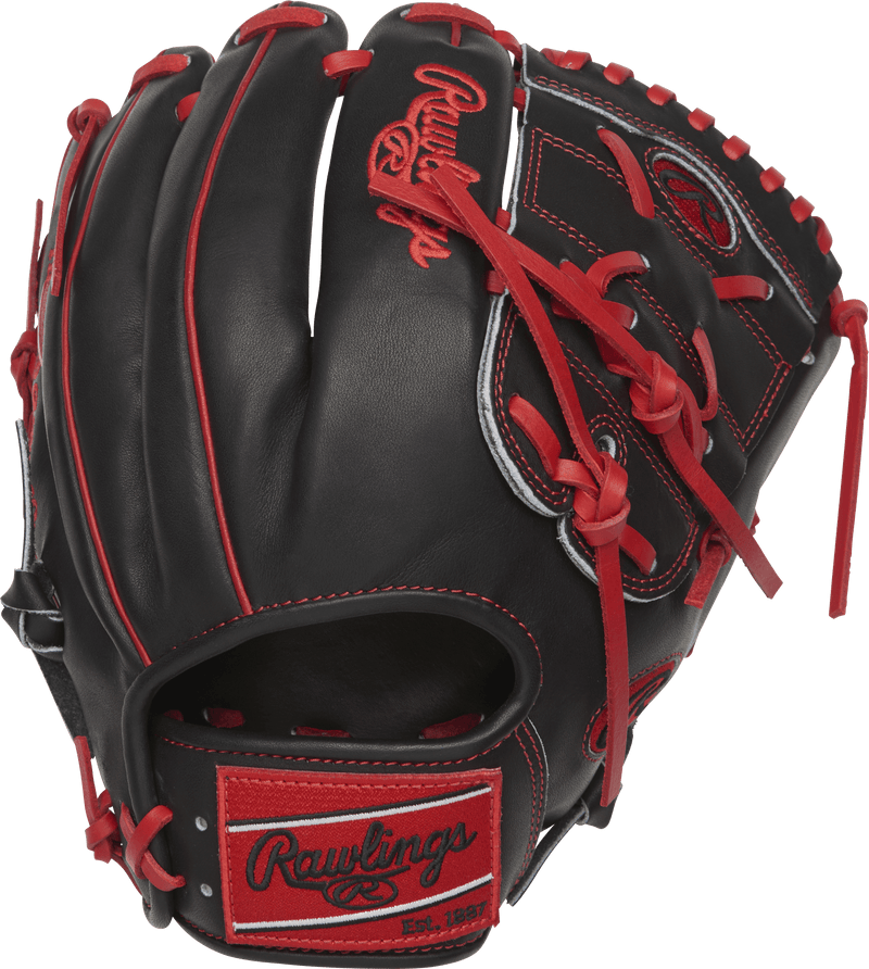 "Back Finger Stall View of Rawlings Heart of the Hide Color Sync 2.0 11.75"" Baseball Glove: PRO205-9CBS"