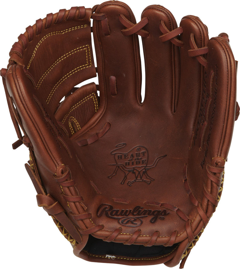 "Inside Palm View of the Rawlings Heart of the Hide 11.75"" Baseball Glove: PRO205-9TIFS at headbangersports.com"