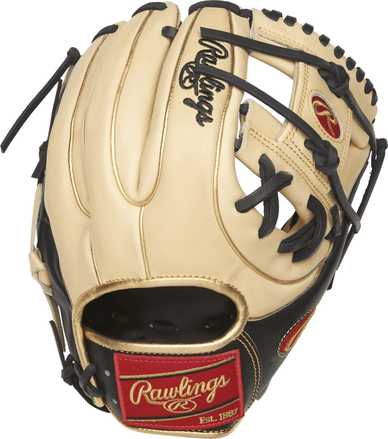 Back View of Rawlings 11.5 inch Infield Baseball Glove: PRO234-2CBG