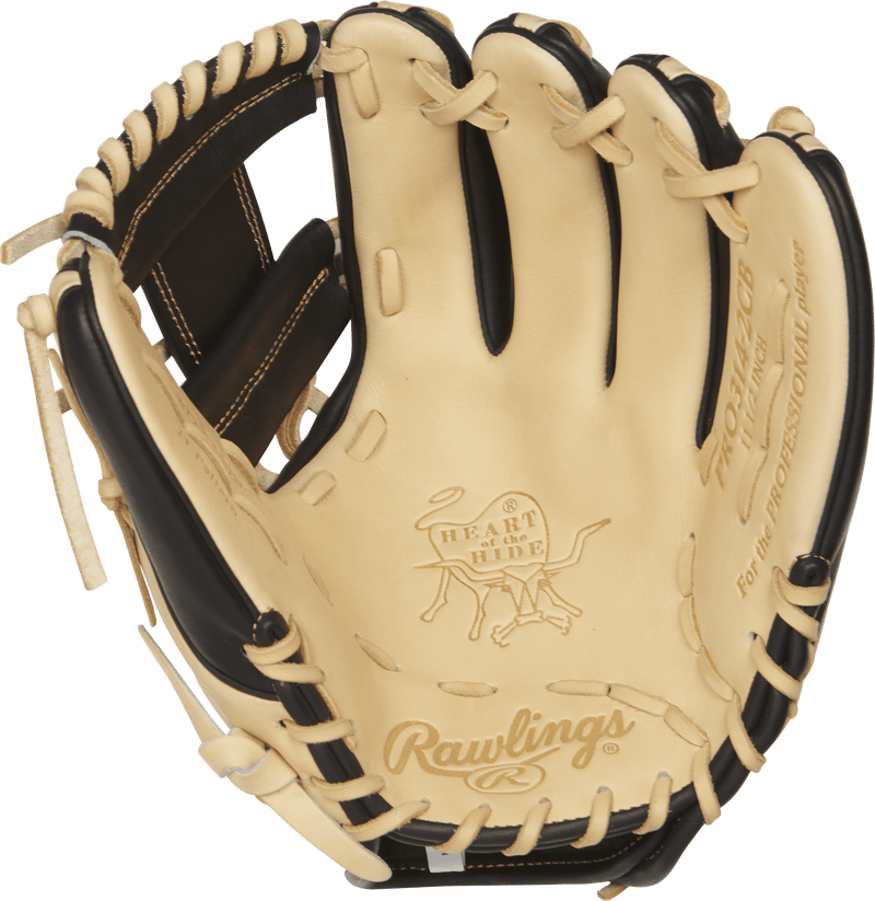 "Inside View of Rawlings Heart of the Hide 11.5"" Baseball Glove: PRO314-2CB"