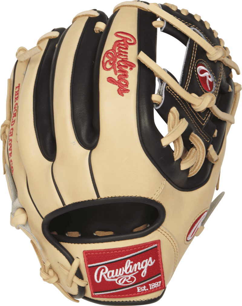 "Back View of Rawlings Heart of the Hide 11.5"" Baseball Glove: PRO314-2CB"