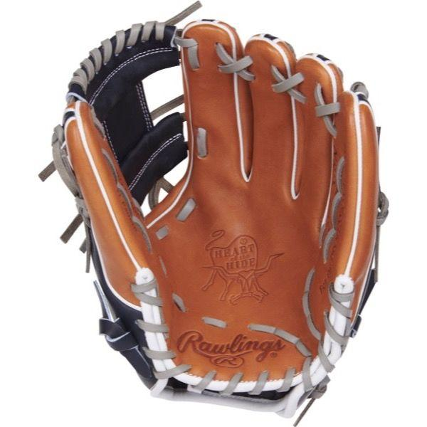 "Palm view of Rawlings Heart of the Hide Color Sync 3.0 11.50"" Baseball Glove: PRO314-2GBN at headbangersports.com"