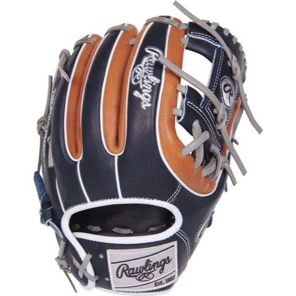 "Rawlings Heart of the Hide Color Sync 3.0 11.50"" Baseball Glove: PRO314-2GBN"