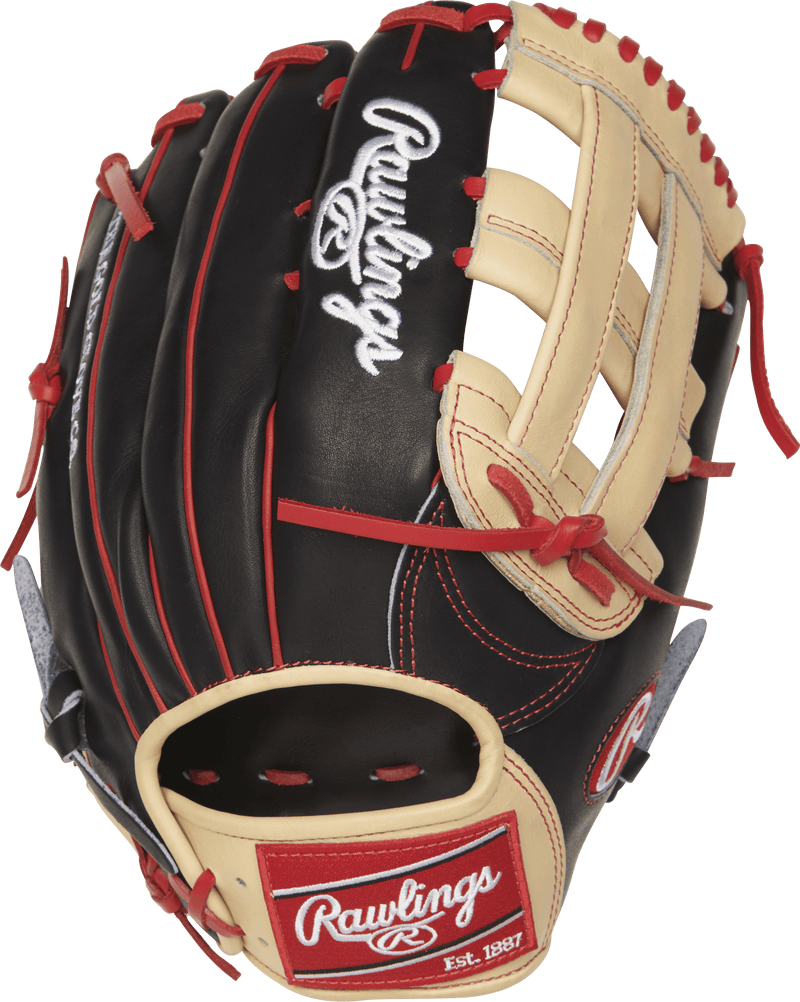 Black and Tan Heart of the Hide Bryce Harper Baseball Outfielders Glove at headbangersports.com