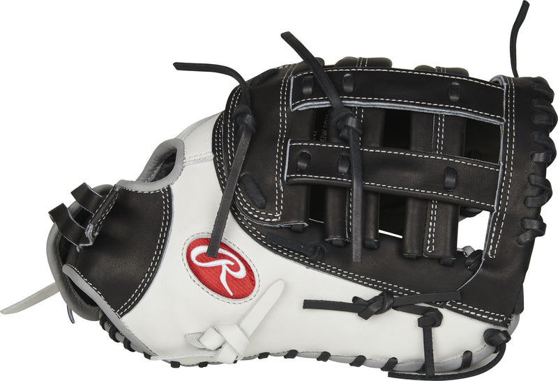 "Rawlings Heart of the Hide 13"" Fastpitch First Base Mitt: PROFM19SB-17BW at headbangersports.com"