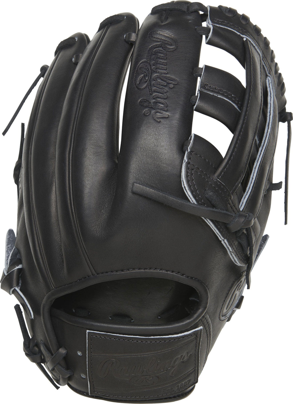 "Rawlings Heart of the Hide 12.25"" Pro Label Carbon Baseball Glove: PROKB17-6B"