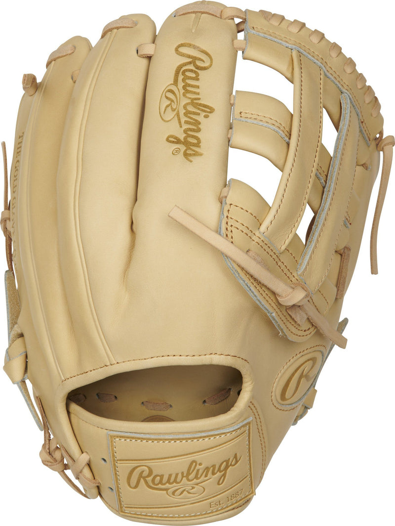 "Rawlings Heart of the Hide 12.25"" Pro Label Sand Baseball Glove: PROKB17-6C"